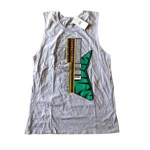Stussy World Tour Guitar Muscle Tee S NWT